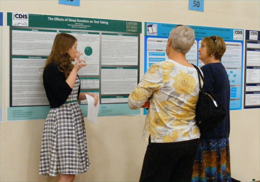 poster session